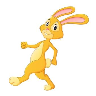 Schattig konijn cartoon