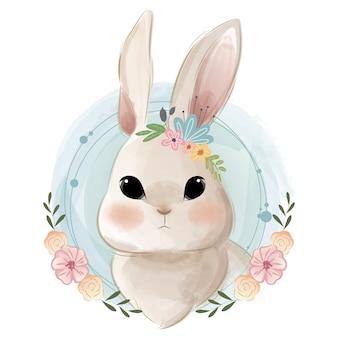 Schattig konijntjesportret