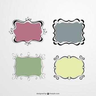 Schattig vector frames set