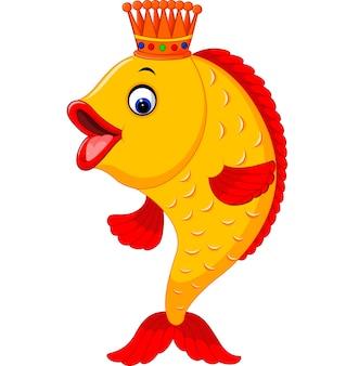 Schattig vis cartoon