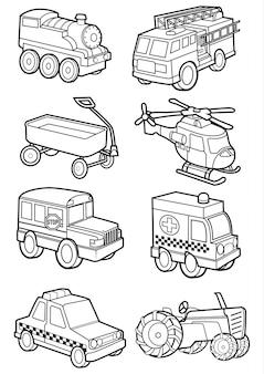 Schattig voertuig, transport