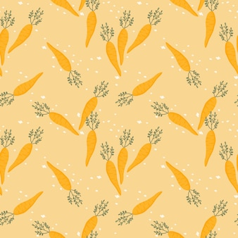 Schattig wortel naadloos patroon
