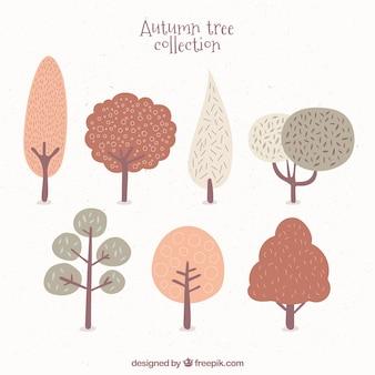 Schattig zeven bomen