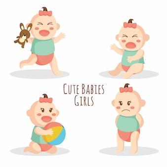 Schattige baby meisje