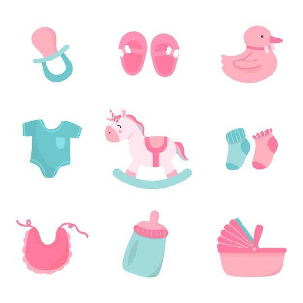 Schattige babykamer decoratie