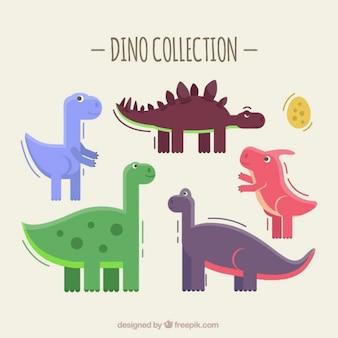 Schattige dino collectie