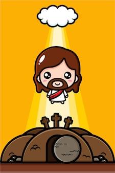 Schattige jezus christus