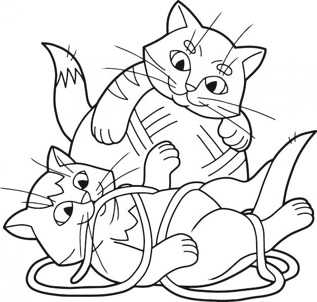 Schattige kittens