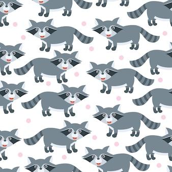 Schattige kleine beer naadloze patroon