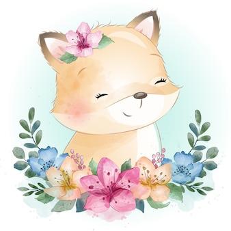 Schattige kleine foxy portret