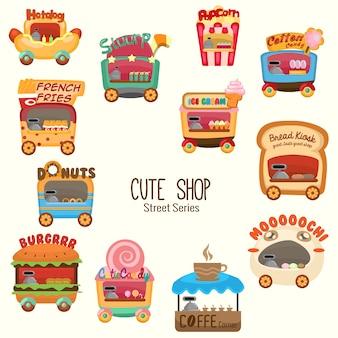 Schattige kleine winkeltjes