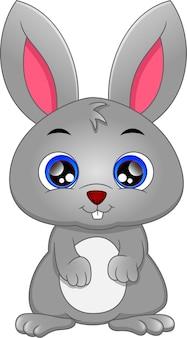 Schattige konijn cartoon