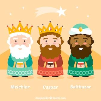Schattige koningen van orient