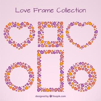 Schattige liefde frames