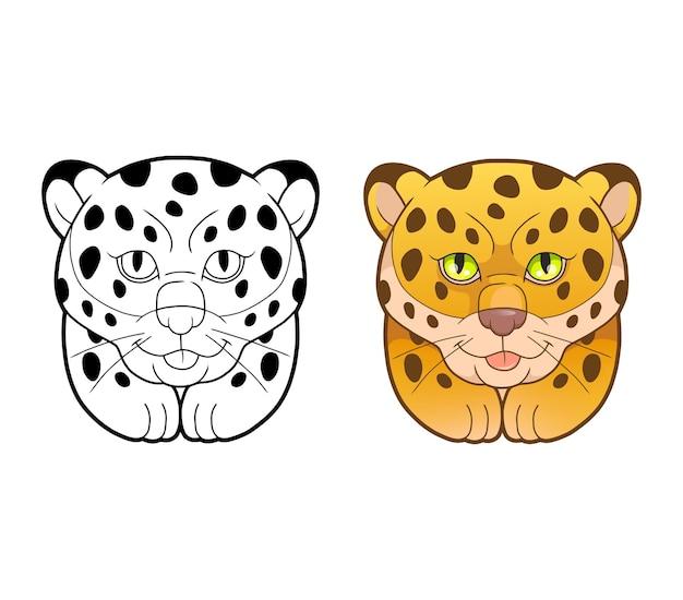 Schattige luipaard