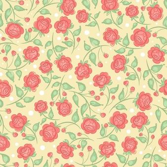 Schattige roze rozen