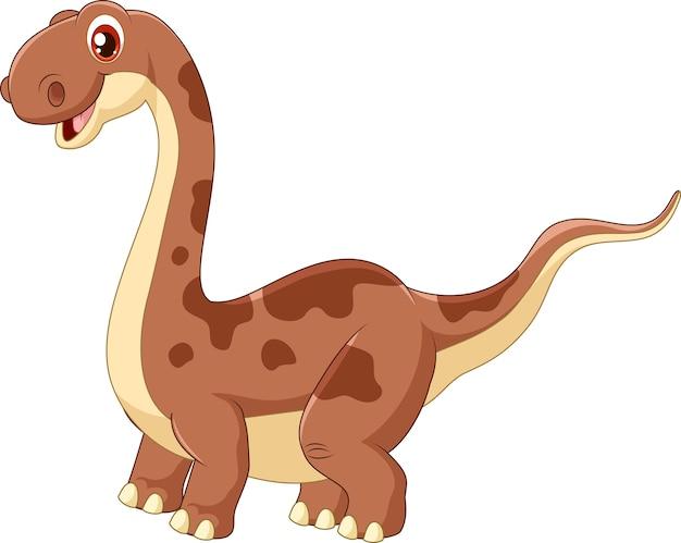 Schattige schattige dinosaurus