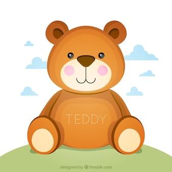 Schattige teddybeer