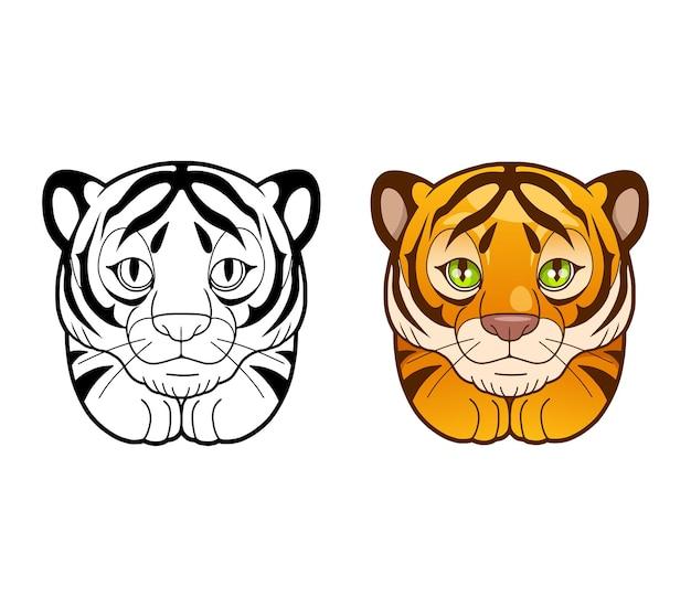 Schattige tijger