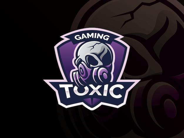 Schedel logo ontwerp.