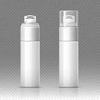 Scheerschuim cosmetische fles sproeier container