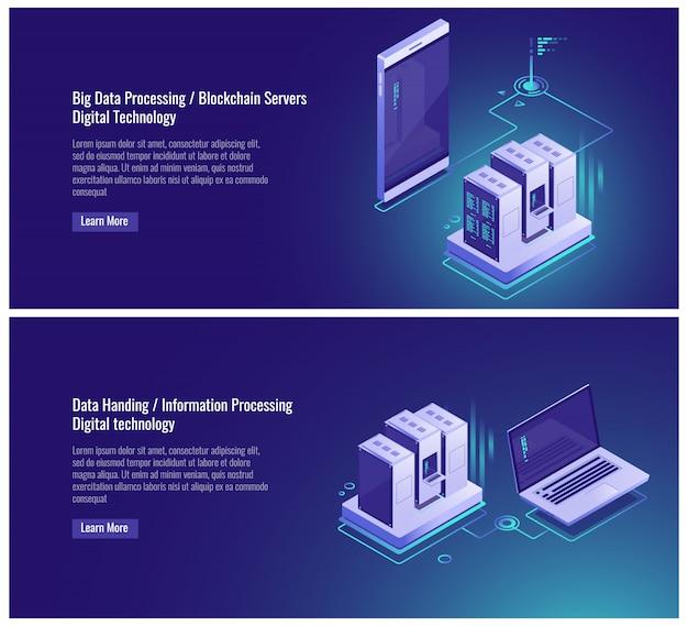 Schema topologie van netwerk, data-upgrade, kloon van bestandsstructuur, cloud back-up kopie