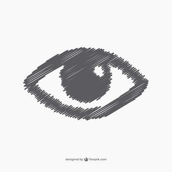 Schetsmatig eye