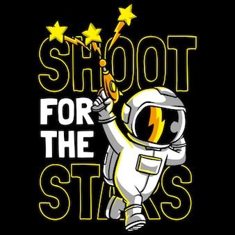 Schiet voor de sterren