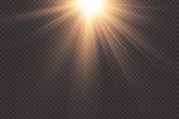 Schijnwerper. licht effect.