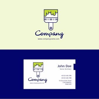 Schilder logo en visitekaartje