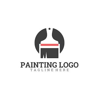 Schilderij logo