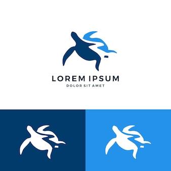 Schildpad logo vector pictogram download