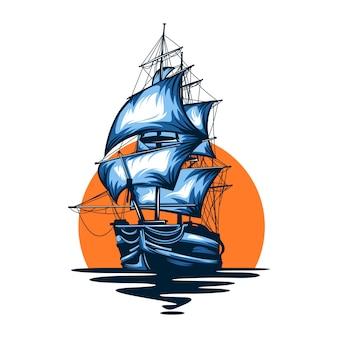 Schip piraat