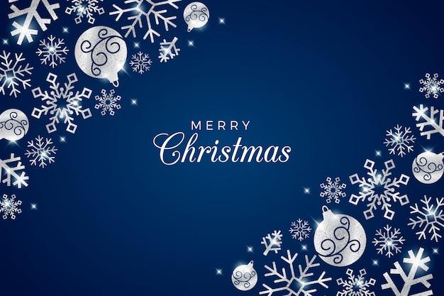 Schitter effect op kerstmisachtergrond