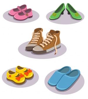 Schoenen illustratie