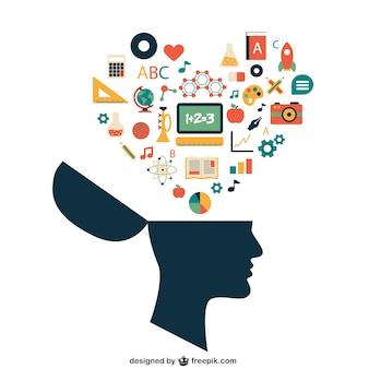 School concept van de kennis