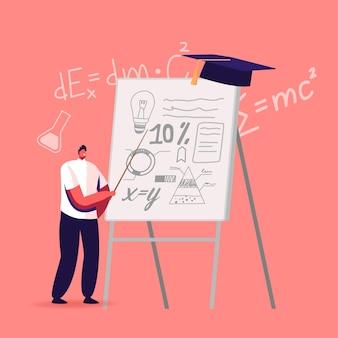 School presentatie illustratie