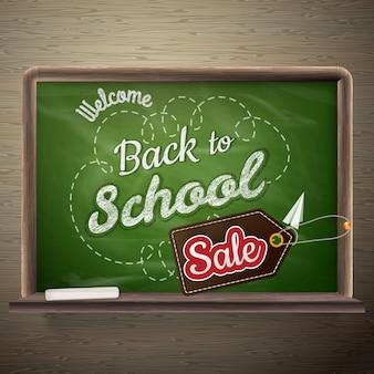 Schoolbestuur verkoop achtergrond.