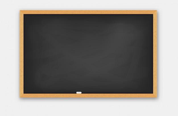 Schoolbord houten frame.