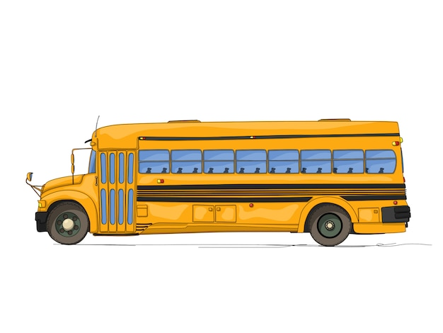 Schoolbus cartoon