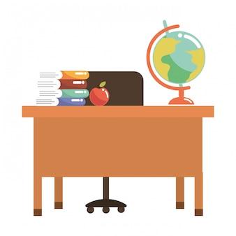Schoolstudie element cartoon
