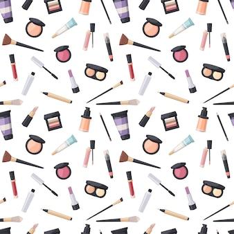 Schoonheid cosmetische naadloze patroon