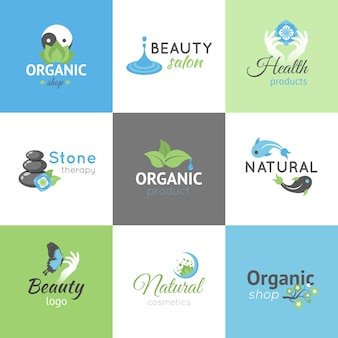 Schoonheid logo's