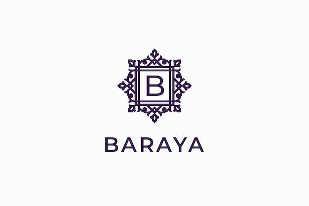 Schoonheid luxe elegante logo sjabloon