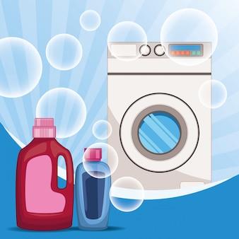 Schoonmaak en schoonmaakset benodigdheden