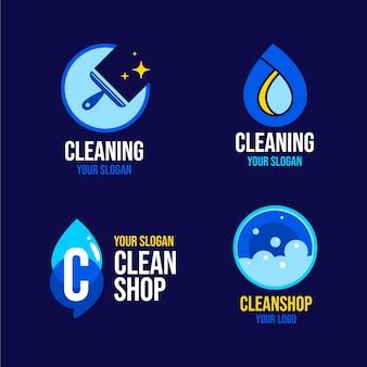 Schoonmaak logo collectie