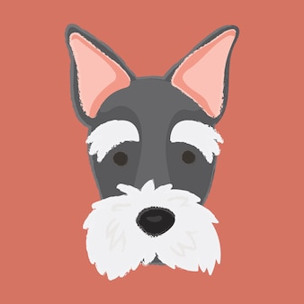 Schotse terrier hond vector