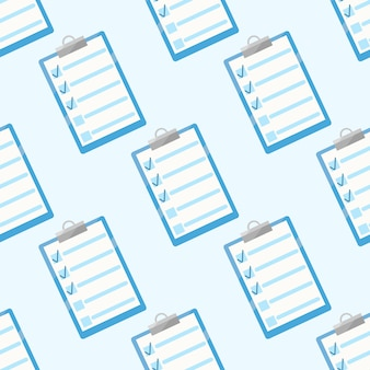 Schrijver notities naadloos patroon