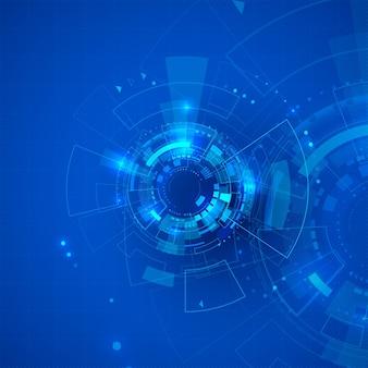 Sci fi cyberspace abstracte technische achtergrond