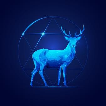 Sci-fi deer